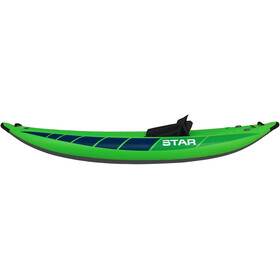 NRS STAR Raven I Inflatable Kayak lime
